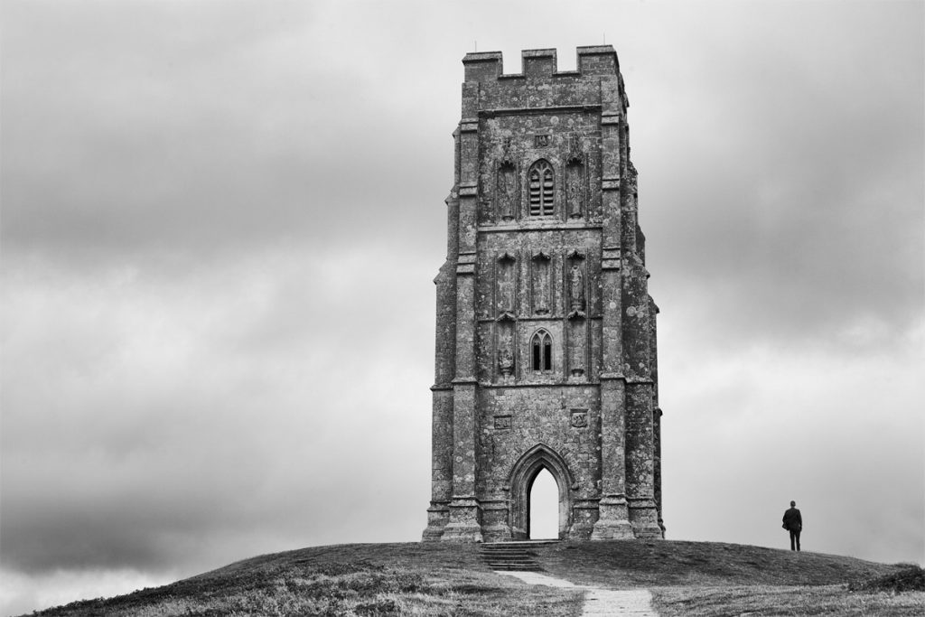 Glastonbury Tor in England