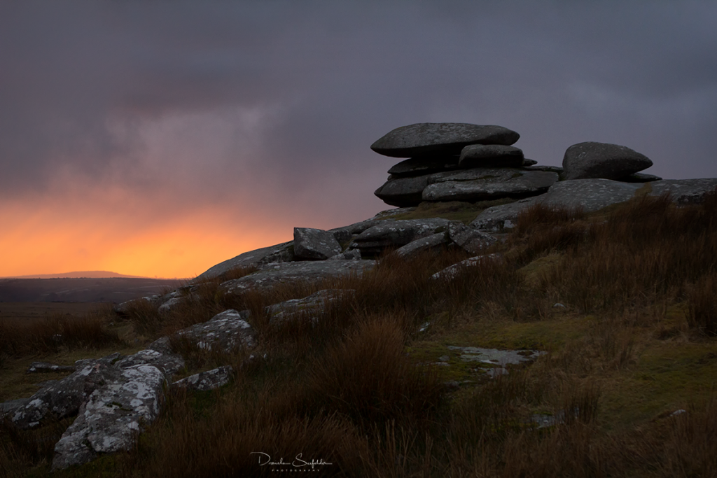 Cheesewring in Bodmin Moor