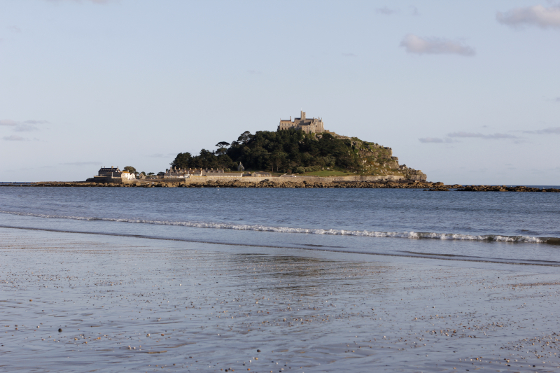 St. Michaels Mount in Cornwall, England