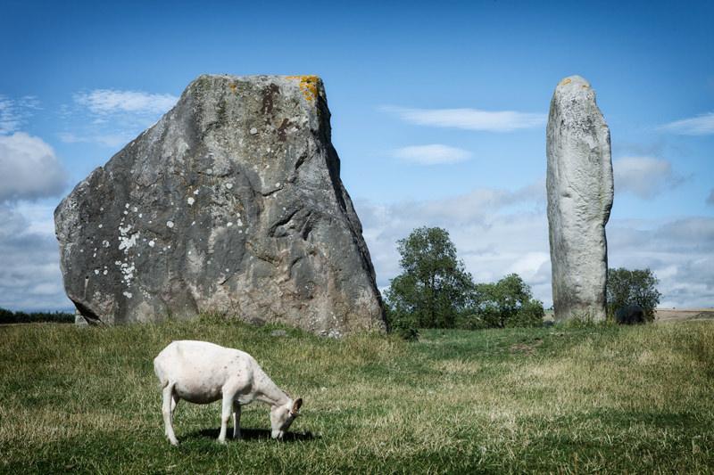 Avebury Steinkreis in England