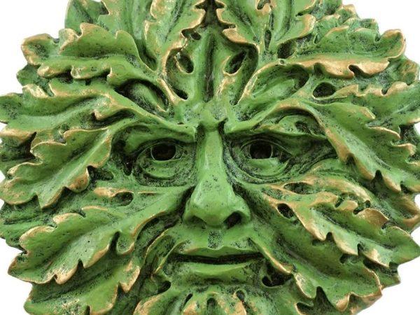 Begegnung mit dem grünen Mann